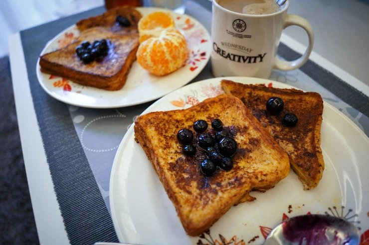 Citrus Coconut French Toast